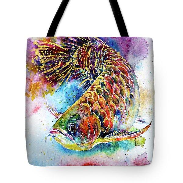 Magic Of Arowana Tote Bag