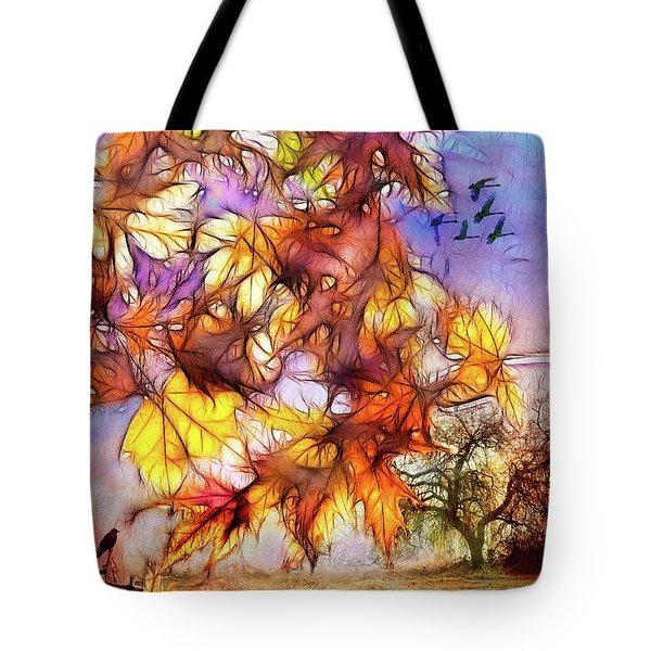 Magic Of Autumn Tote Bag
