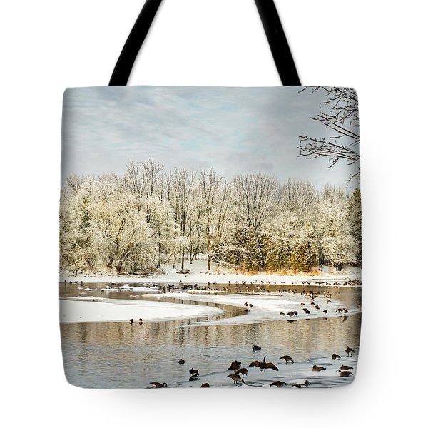 Magic Of Winter Tote Bag