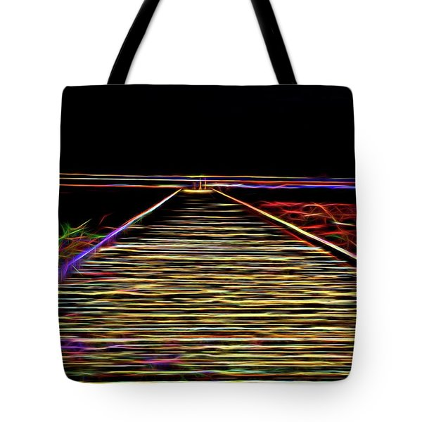 Magic On The Boardwalk Tote Bag