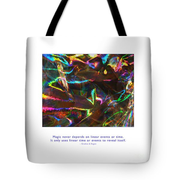 Tote Bag featuring the photograph Magic Reveals Itself by Kristen Fox