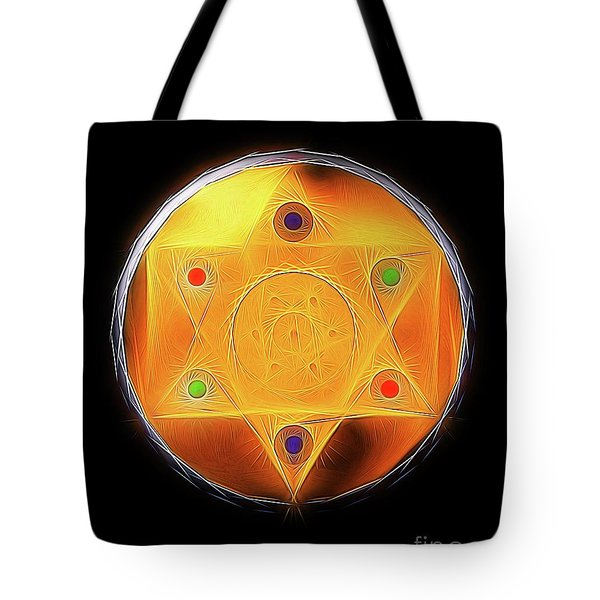 Magic Symbol By Raphael Terra Tote Bag