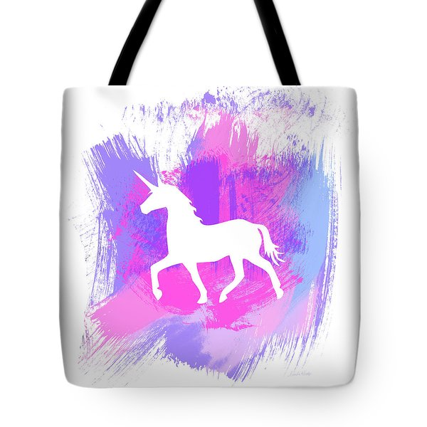 Magic Unicorn 1- Art By Linda Woods Tote Bag