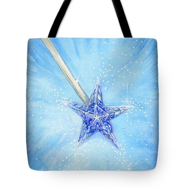 Tote Bag featuring the painting Magic Wand by Cindy Garber Iverson