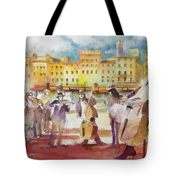 Magica Siena Tote Bag by Alessandro Andreuccetti