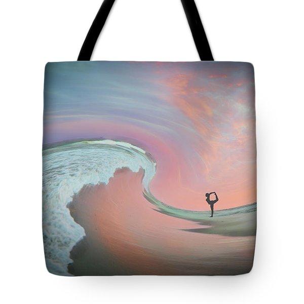 Magical Beach Sunset Tote Bag