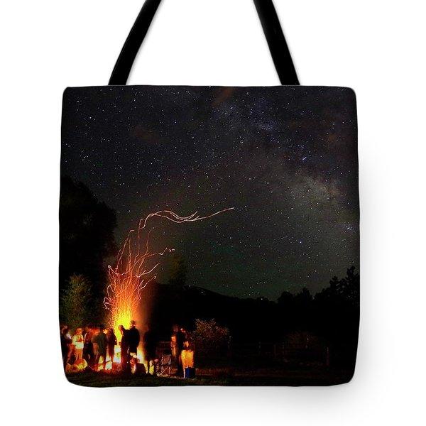 Magical Bonfire Tote Bag
