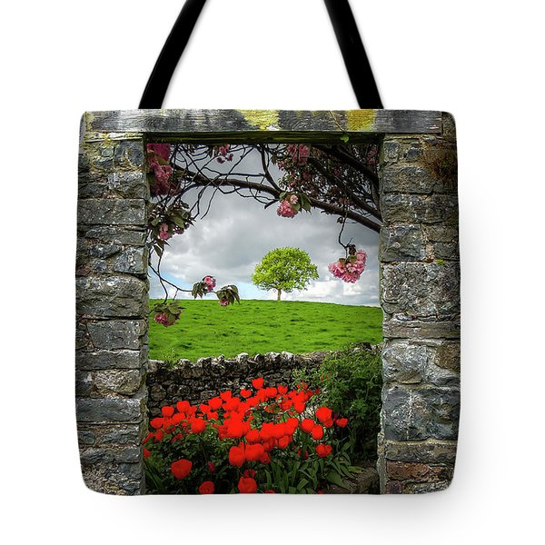 Tote Bag featuring the photograph Magical County Clare Countryside by James Truett