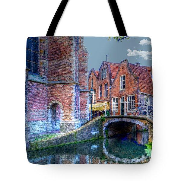 Magical Delft Tote Bag