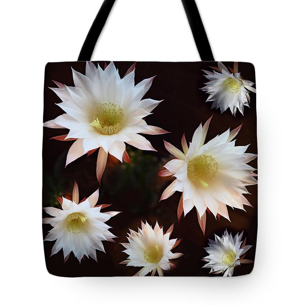 Magical Flower Tote Bag by Gina Dsgn