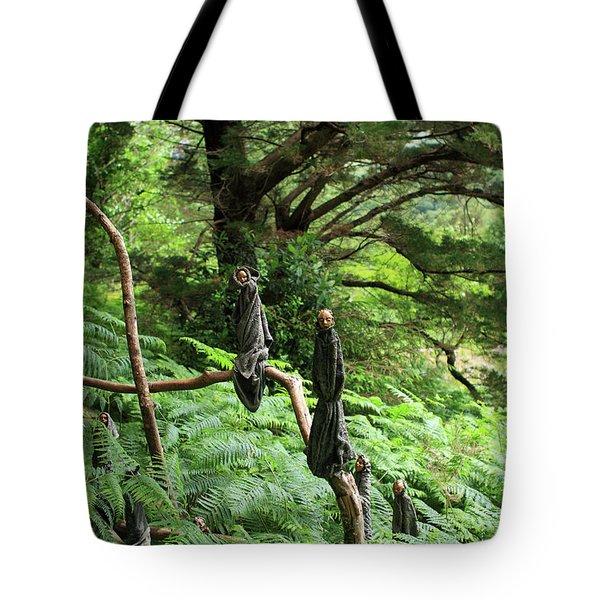 Magical Forest Tote Bag by Aidan Moran