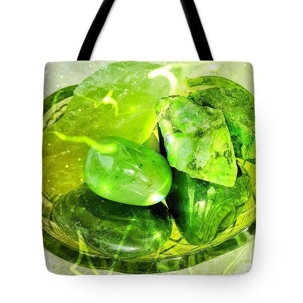 Magical Gemstones Tote Bag