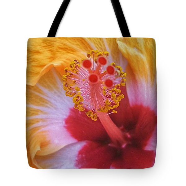 Magical Hibiscus  Tote Bag