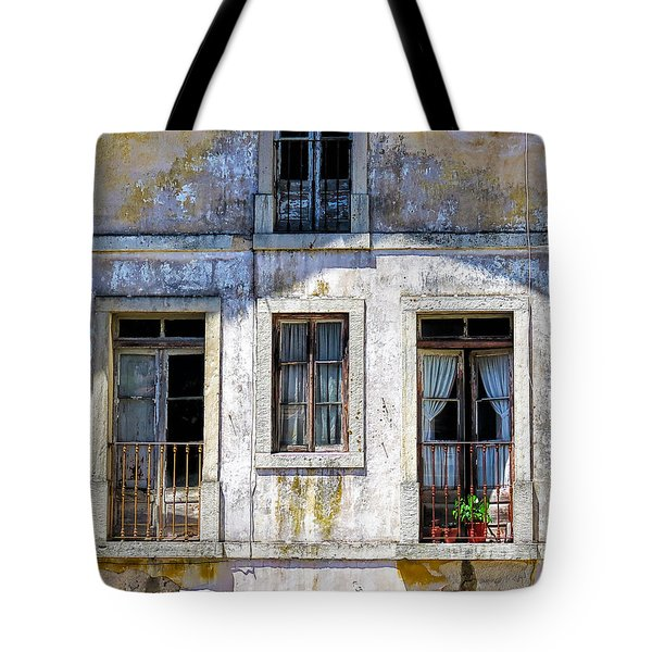 Magical Light On Sintra Windows Tote Bag