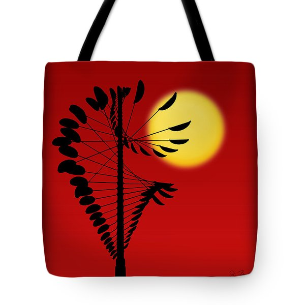 Magical Mobile And Sun Tote Bag