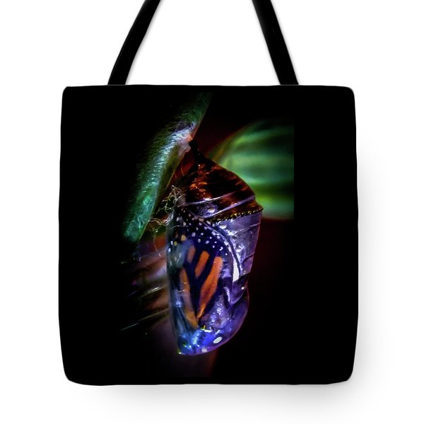 Magical Monarch Tote Bag by Karen Wiles