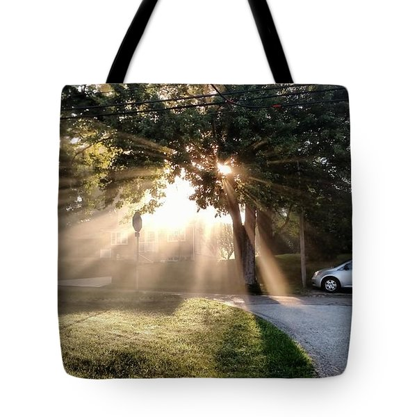 Magical Morning Tote Bag