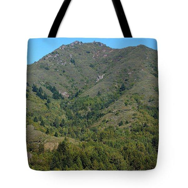 Magical Mountain Tamalpais Tote Bag by Ben Upham III
