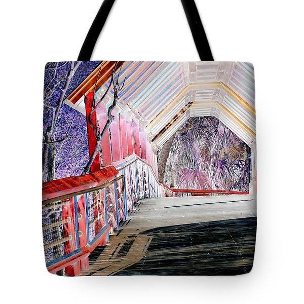 Magical Mystery Bridge Tote Bag