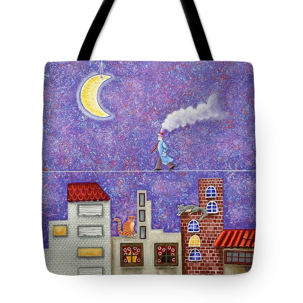Magical Night Tote Bag