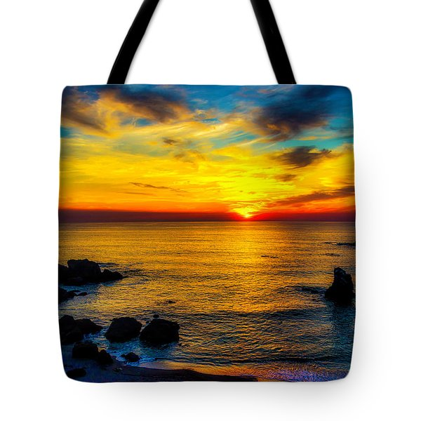 Magical Pacific Sunset Tote Bag