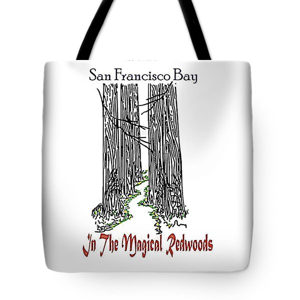 Magical Redwoods  Tote Bag