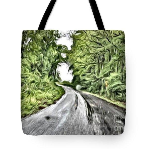 Magical Road Home Tote Bag