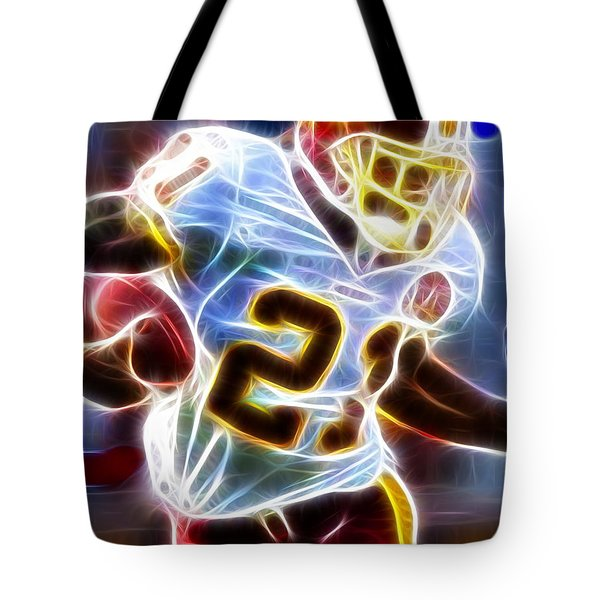 Magical Sean Taylor Tote Bag by Paul Van Scott