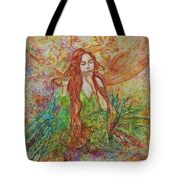 Magical Song Of Autumn Tote Bag by Rita Fetisov