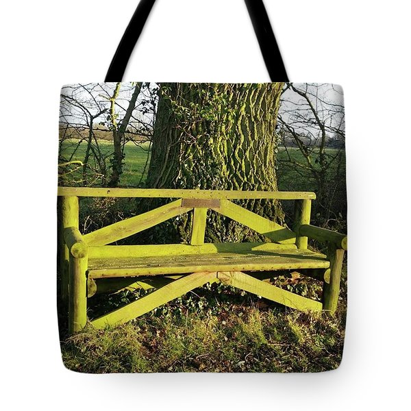 Magical Spot To Linger Tote Bag
