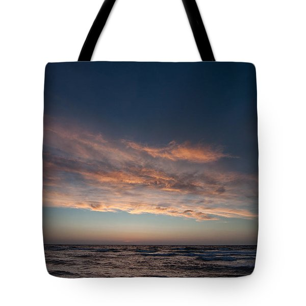 Tote Bag featuring the photograph Magical Sunset by Laura Melis