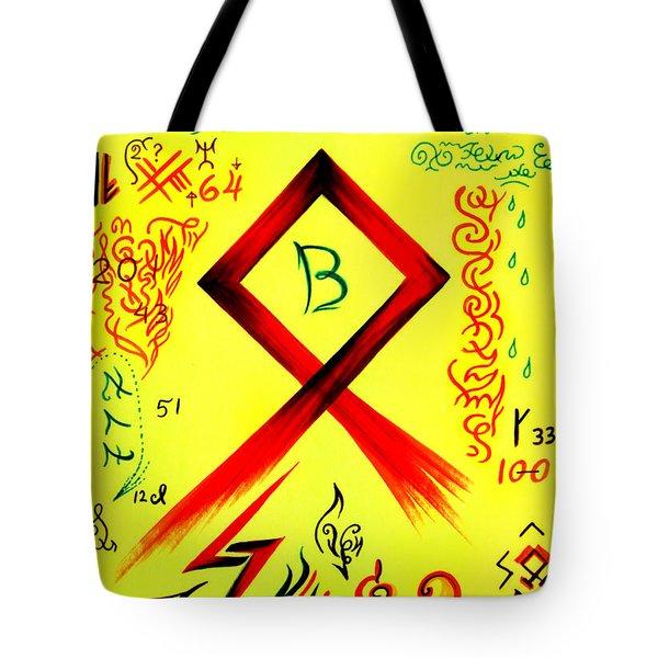 Magical Symbol - Othala Rune - Yokhtalghee Tote Bag