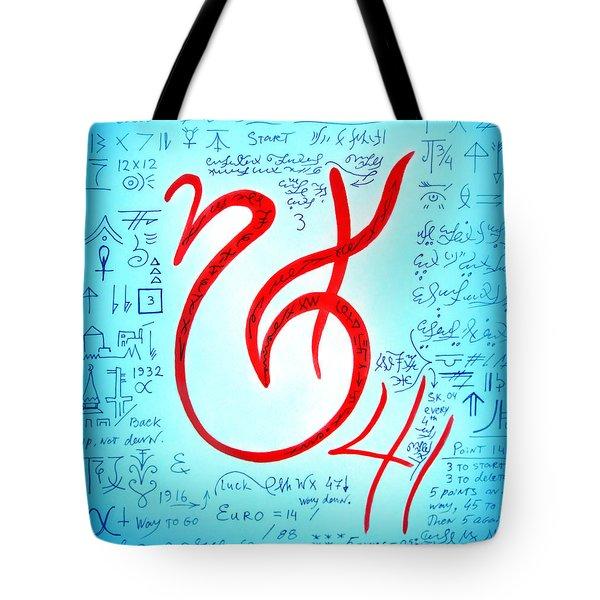 Magical Symbol - Pride And Victory Tote Bag