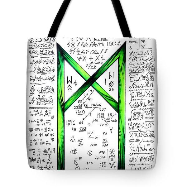 Magical Text Art - Way To Success Tote Bag