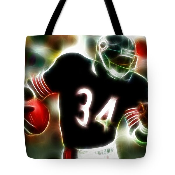 Magical Walter Payton Tote Bag