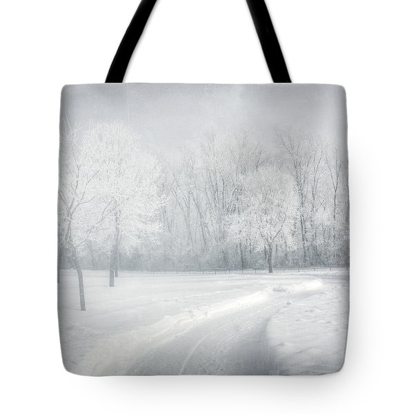magical Winter day Tote Bag