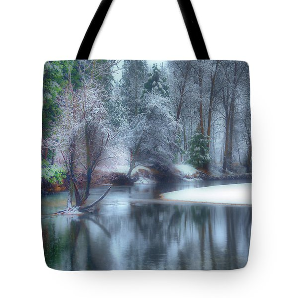 Magical Touch To Yosemite Tote Bag by Josephine Buschman