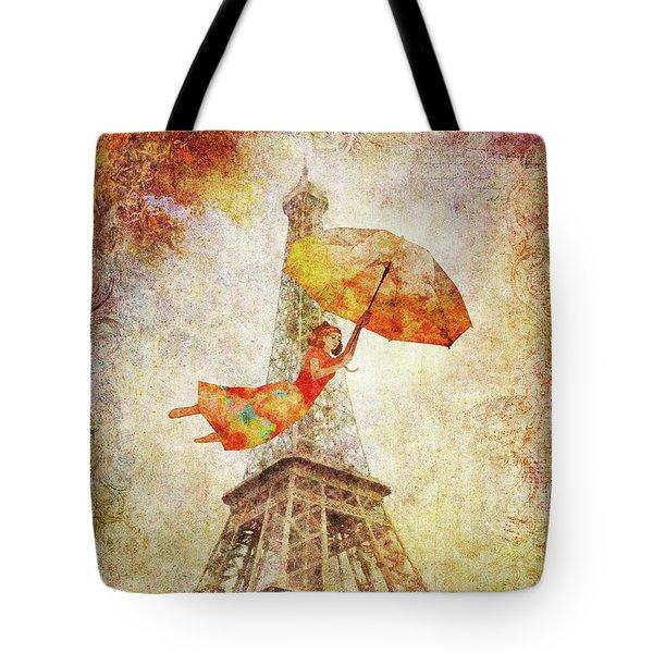 Magically Paris Tote Bag