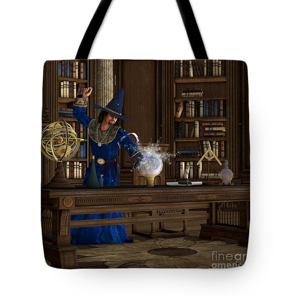 Magician Tote Bag by Corey Ford
