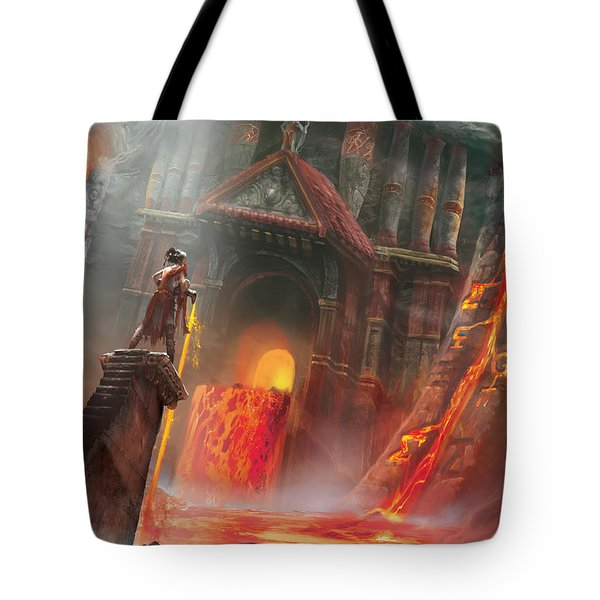 Magmatic Insight Tote Bag