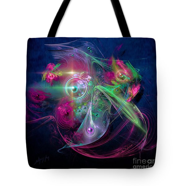 Magnetic Fields Tote Bag