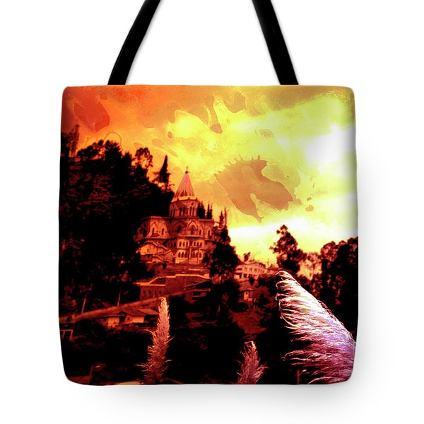 Tote Bag featuring the photograph Magnificent Church Of Biblian IIi by Al Bourassa