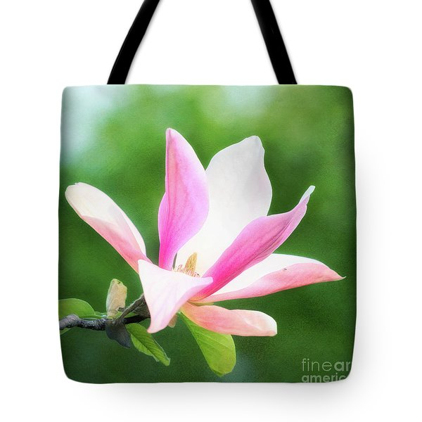 Magnificent Daybreak Magnolia At Day's End Tote Bag