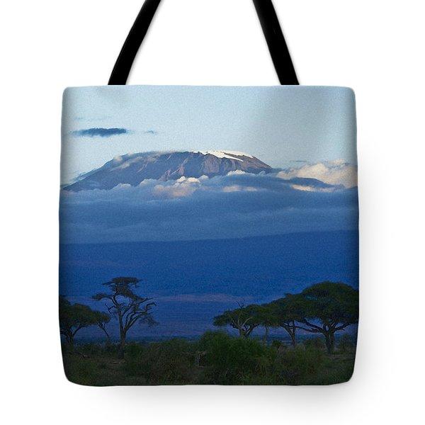 Magnificent Kilimanjaro Tote Bag