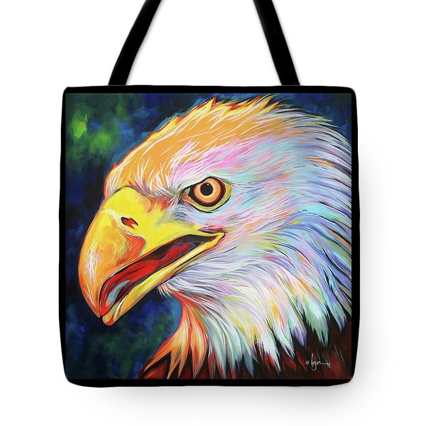 Tote Bag featuring the painting Magnifico by Angela Treat Lyon