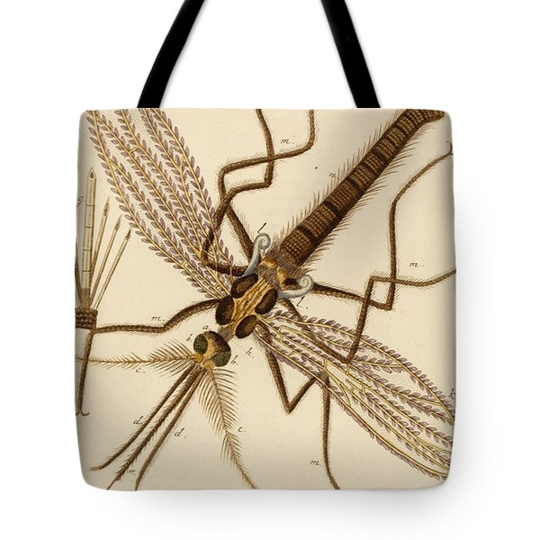 Magnified Mosquito Tote Bag