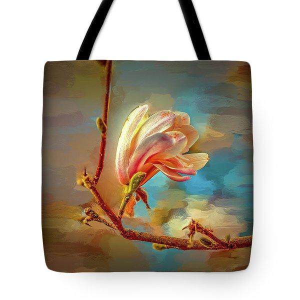 Magnolia Abs #h4 Tote Bag