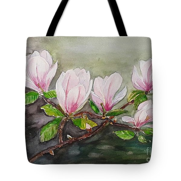 Magnolia Blossom - Painting Tote Bag