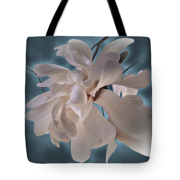 Tote Bag featuring the photograph Magnolia Blossoms by Judy Johnson