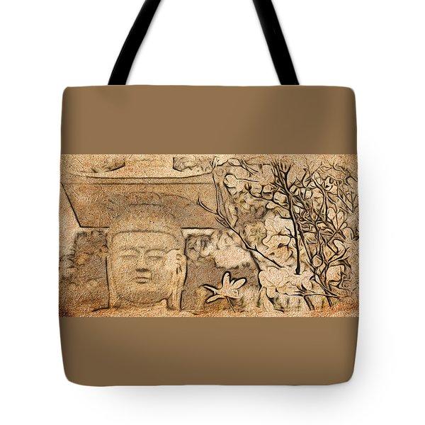 Magnolia Buddha Tote Bag
